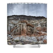 Red Rock Canyon Cliffs Shower Curtain