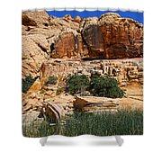 Red Rock Canyon The Tank Shower Curtain