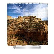 Red Rock Canyons Shower Curtain