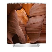 Red Rock Formations, Antelope Canyon Shower Curtain