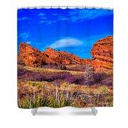 Red Rocks Park Colorado Shower Curtain