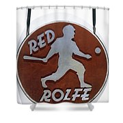 Red Rolfe (1908-1969) Shower Curtain