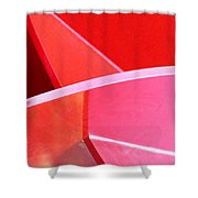 Red Thing Shower Curtain