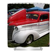 Red White Blue Beautiful Shower Curtain