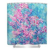 Redbud Special Shower Curtain
