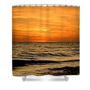Redington Beach Sunset Shower Curtain