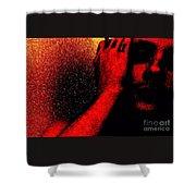 Redlight Shower Curtain