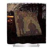 Reenactors Camp Shower Curtain