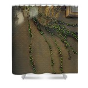 Reflecting On Beads Shower Curtain
