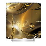 Reflecting On Tales Of Reflections Of Tales Shower Curtain