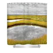 Reflecting Pools Shower Curtain