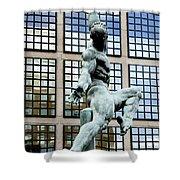 Reflecting Sculpture Shower Curtain