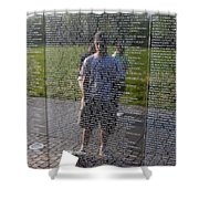 Reflection And Remembrance Shower Curtain