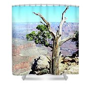 Reflection In The Canyon Shower Curtain