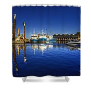 Reflections At Freemantle Shower Curtain