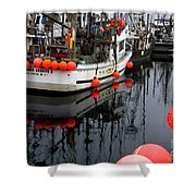Reflections At French Creek Shower Curtain