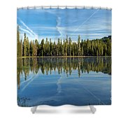 Reflections At The Summit Shower Curtain