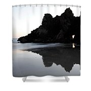 Reflections Big Sur Shower Curtain