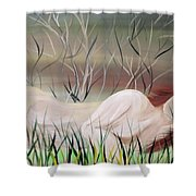 Reflections Shower Curtain by Mark Moore
