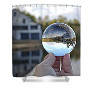 Reflections Of A Beautiful Day Shower Curtain