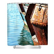 Reflections Of A Rust Bucket Shower Curtain