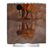 Reflections Of India Shower Curtain