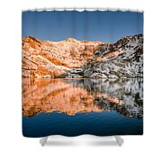 Reflections On Angel Lake Shower Curtain