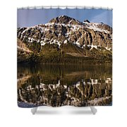 Reflections On Red Eagle Mountain Shower Curtain