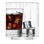 Refreshment Shower Curtain