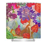 Refreshment IIi Shower Curtain