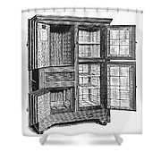 Refrigerator, C1900 Shower Curtain