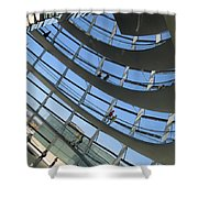 Reichstag Dome Shower Curtain
