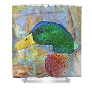 Relaxing By The Pond Shower Curtain