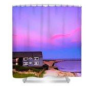 Relaxing Peaceful Ocean Air Shower Curtain