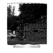 Religious Rant- Jackson Street - Monroe Louisiana Shower Curtain