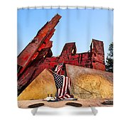 Remember September 11th Shower Curtain