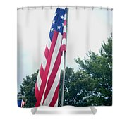 Remembering 9-11 Shower Curtain