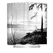 Remembering Days Gone By Shower Curtain