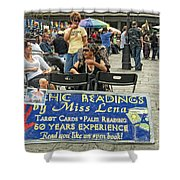Remembering Miss Lena Shower Curtain