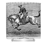 Remington: 10th Cavalry Shower Curtain