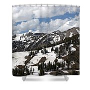 Rendezvous Mountain 2 Shower Curtain