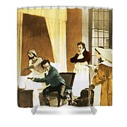 Rene Laennec, French Physician Shower Curtain