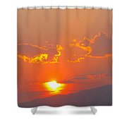 Reno At Sunset Shower Curtain