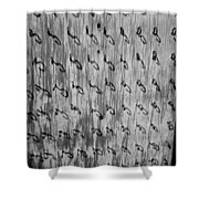 Repetition To Variation 1b Shower Curtain