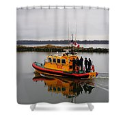 Rescue Boat Shower Curtain