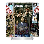 Respectfully Yours..... Mr. President 2 Shower Curtain