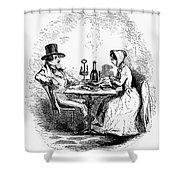 Restaurant, 19th Century Shower Curtain