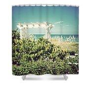 Restful-vintage Shower Curtain