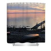 Restful Waters Shower Curtain