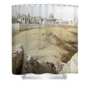 Resting Near Jerusalem Shower Curtain